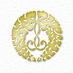 gold Jodo Shinshu wisteria logo