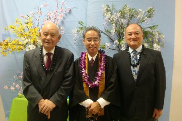 Bishops Yosemori, Matsumoto, and Okano