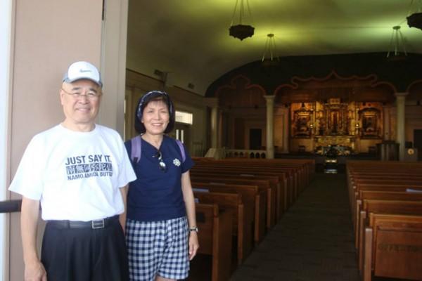 Rev. Hagio and Faye Mar