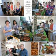 grad party photo collage
