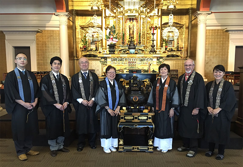 Congratulations to Hawaii's newly ordained Jodo Shinshu