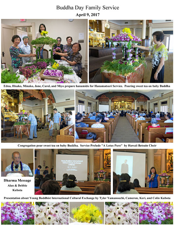 Betsuin Buddha Day Service 2017