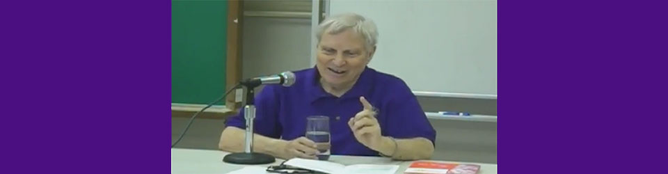 Rev. Dr. Al Bloom video still from Tannisho lecture