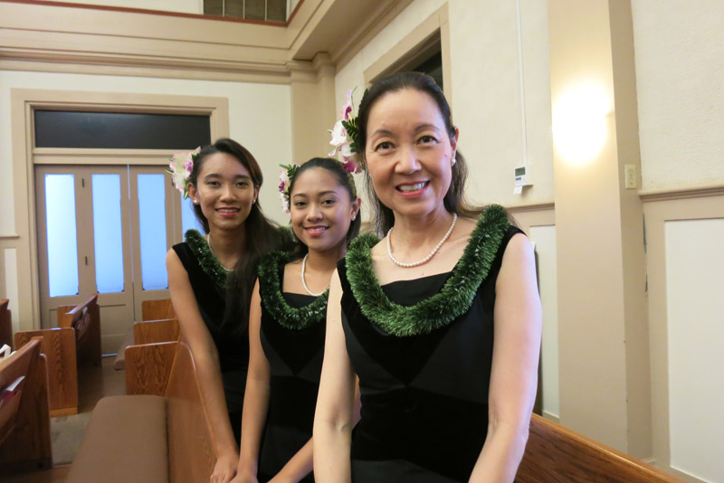 Masago Asai and daughters – Peace Day Interfaith 2017