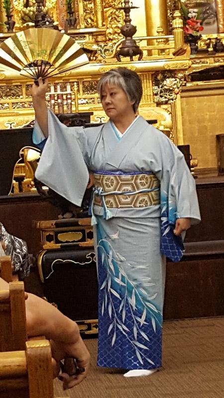 Sheree Tamura of Hanayagi Mitsusumi Dance Studio – Peace Day Interfaith 2017