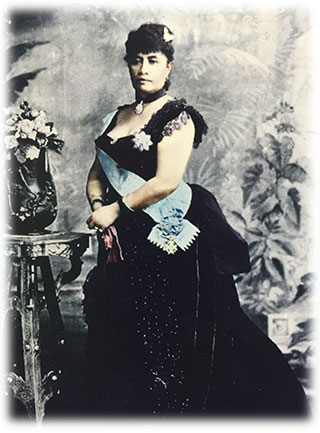 Queen Liliuokalani portrait
