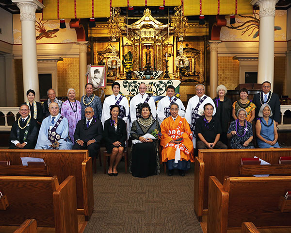 Group photo, Queen Liliuokalani Tribute Service