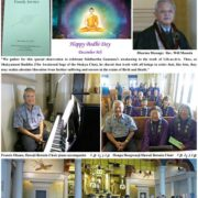 Bodhi Day 2017 photo collage