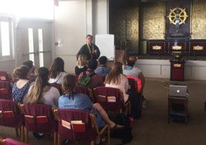 Pacific Lutheran University student visit - Annex
