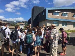 Pacific Lutheran University student visit - PBA