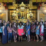 Pacific Lutheran University student visit - hondo