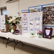 Displays in the Social Hall on Eshinni/Kakushinni Day 2019